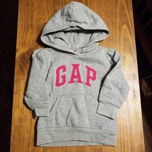 Gap hooded sweatshirt size 2T